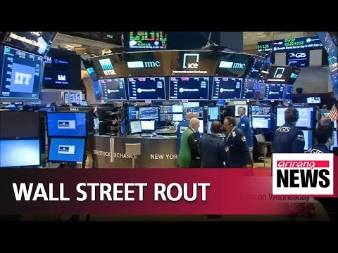 Stocks on Wall Street suffer worst day in eight months on Wednesday