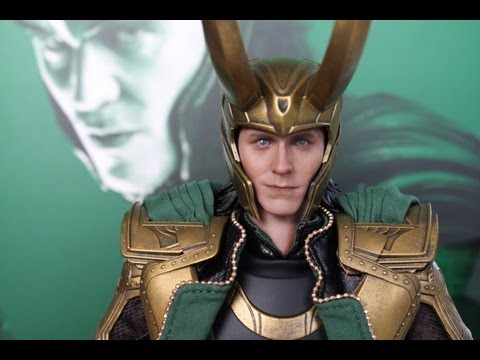 Loki The Avengers Hot Toys figure review