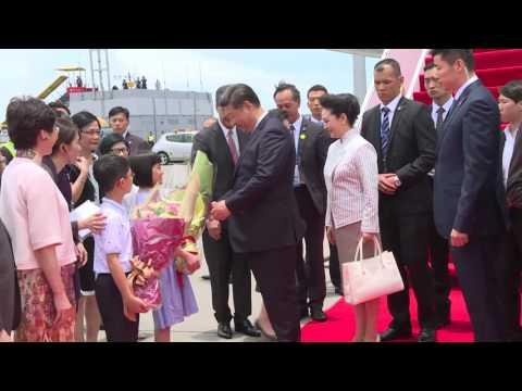 國家主席訪港接機活動