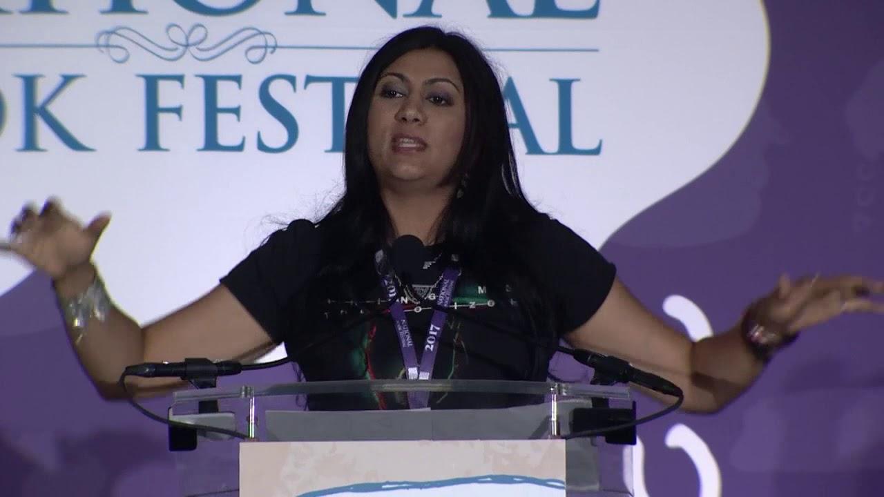 Sabaa Tahir at the 2017 National Book Festival