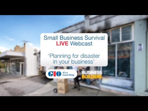 Watch 'Planning For Disaster In Your Business'
