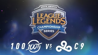 Video 100 vs. C9 - Week 6 Day 1 | NA LCS Spring Split | 100 Thieves vs. Cloud9 (2018) MP3, 3GP, MP4, WEBM, AVI, FLV Juni 2018