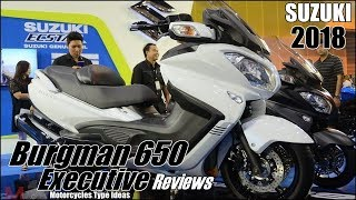 9. 2018 Suzuki Burgman 650 Executive Reviews