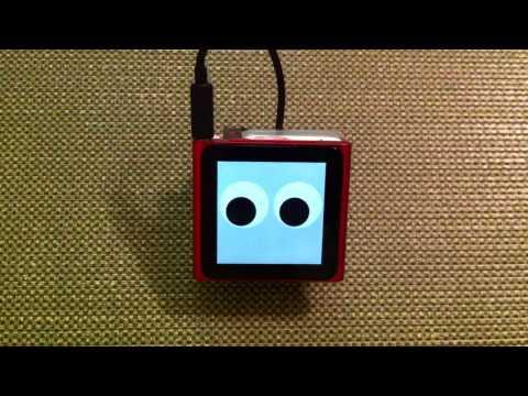 Vídeo: el iPod nano convertido en un robot que camina