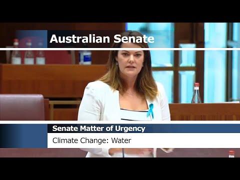Senate Matter of Urgency - Climate Change: Water