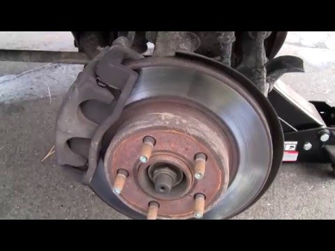 FORD MAZDA 4x4 WHEEL BEARING HUB ASSEMBLY REPLACEMENT