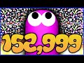 150 000k World Record Mass Gameplay Slither Io World Re