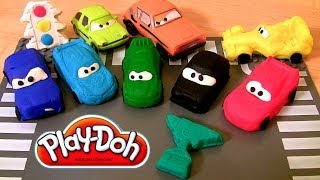 Play Doh Cars 2 Race Mats World Grand Prix Racers