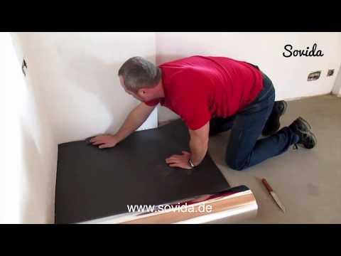 Trittschalldämmung verlegen - Verlegetipps | SOVIDA.de