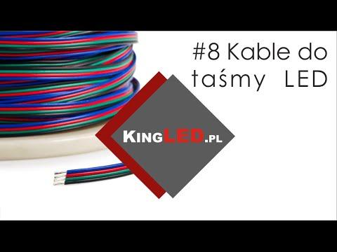 Jak dobrać kable / przewody do podłączenia taśmy LED # 9 -Poradnik