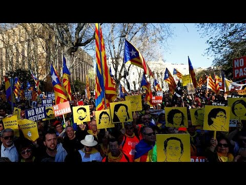 Spanien: Plädoyers im Madrider Separatistenprozess