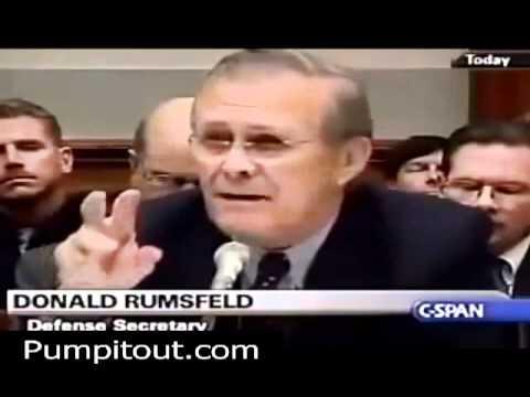Cynthia McKinney Grills Donald Rumsfeld