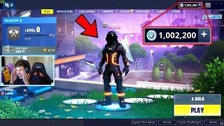 JENSENSNOW Got My 1MIL VBUCKS ACCOUNT Back.. (Fortnite)