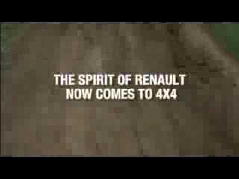 """Renault Koleos – Anuncio """"4×4 por fuera, Renault por dentro"""""""