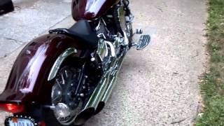7. Yamaha vstar 1100 custom w cobra exhaust