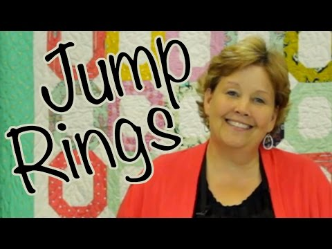 ring - http://missouriquiltco.com – Jenny Doan shows us how to make The Jump Right Quilt using Jelly Rolls (pre cut 2 1/2 inch strips of fabric). To get the materials needed to make this project,...
