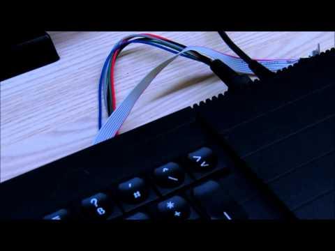 Sinclair QL - Hardwarevorstellung: Anschluss an TFT