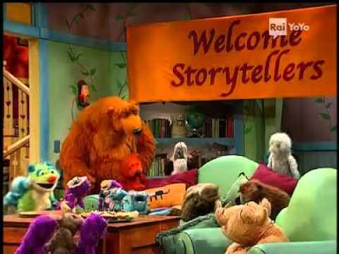 Episodio cartone animato completo orso bear nella casa blu cartoni