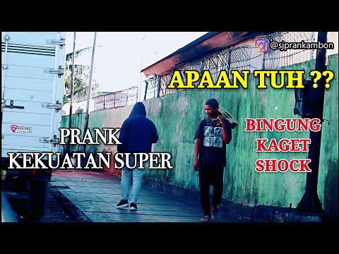 PRANK KEKUATAN SUPERR || BINGUNG DAN KAGET || NGAKAK ABISS