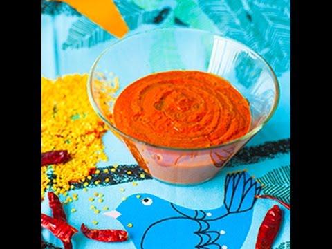 harissa, salsa piccante tunisina - ricetta