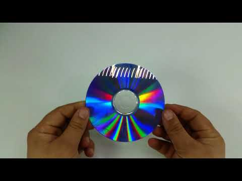 How to Make 3D Hologram Projector with CD in 3 Minutes