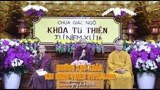 Những khó khăn khi tập thiền Vipassana - Thiền sư Aggann