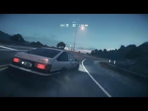 Need For Speed - Initial D Takumi's Toyota AE86 [M.O.V.E - Blast My Desire]
