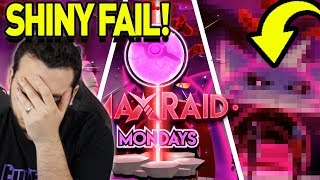 I FAILED A SHINY GIGANTAMAX!! Max Raid Monday Montage! Pokemon Sword and Shield by aDrive