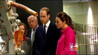 Prince William, Kate Middleton Visit Sept. 11 Memorial, Museum