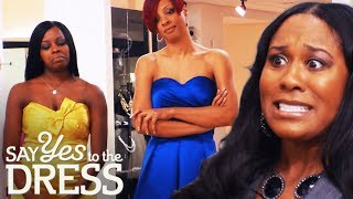 Download Video Bridesmaids Are Not Happy With Yellow, Blue & Silver Colour Theme | Say Yes To The Dress Bridesmaids MP3 3GP MP4