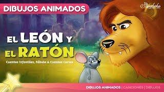 El León y el Ratón  Cuentos infantiles en Español
