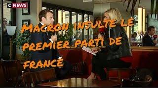 Video Flash info urgent élection présidentielle second tour Macron insulte le premier parti de France MP3, 3GP, MP4, WEBM, AVI, FLV Agustus 2017