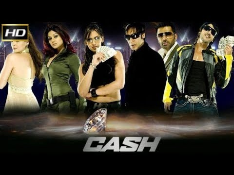 Cash 2007 - Action Movie | Ajay Devgn, Sunil Shetty, Ritesh Deshmukh, Zayed Khan.