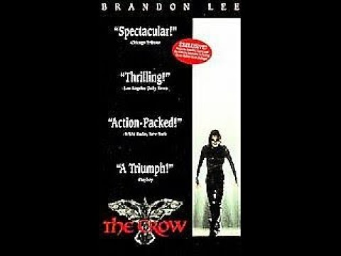 Opening and Closing To The Crow 1994 VHS