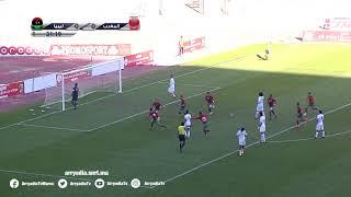 منتخب ليبيا 0-1 منتخب المغرب هدف أسامة ترغالين من نقطة الجزاء في الدقيقة 32