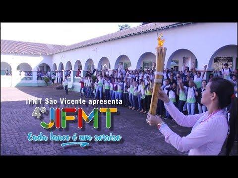 JIFMT 2017: Atletas do IFMT São Vicente conduzem a tocha do 4º JIFMT