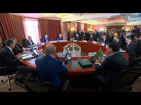 Заседание Совета министров иностранных дел государств-участников СНГ проходит в Бишкеке