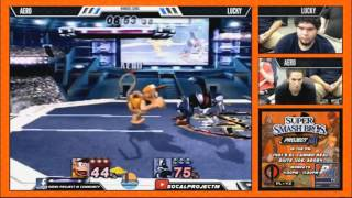 Aero vs. Lucky, some of the juiciest Diddy Kong play you'll ever see!