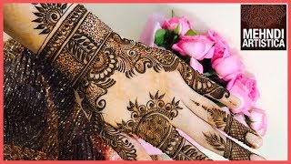 Designer Mehndi Design For Upper Side Hand  Floral Unique Modern Designs Mehendi 2017 Click For Best Mehndi CONES http://amzn.to/2tv0G6tMehndi Book http://amzn.to/2uXN6XmClick For Indian Bridal Saree/Wedding Saree http://amzn.to/2tv4ODtif you have any request just comment down below... email id: mehndiartistica@gmail.comFb Page: https://m.facebook.com/MehndiArtisticaInstagram: MehndiArtisticaproTwitter MehndiArtisticaYoutube: https://www.youtube.com/user/MehndiArtisticaLearn beautiful DIY henna/mehndi design in this tutorial.its specially made for Eid 2017 mehndi designs, Diwali 2017 mehndi designs, bridal mehndi designs, and all party mehndi designs...I always try to make latest mehndi designs and new mehndi designs and simple mehndi designs for beginners...hope you all are doing well...So, here is my new and latest Mehndi design Tutorial for you all, do watch and enjoy.I upload most famous mehndi designs on youtube.I am best mehndi/henna designer in India.I make Arabic mehndi designs, Indian mehndi designs, Pakistani mehndi designs, intricate mehndi designs, mandala mehndi designs, ornamental, jewelry, gulf, egyptian, etc.., so you will find best  mehndi/henna designs on my channel, MehndiArtisticaThis Mehndi Pattern is for modern bride, it's a full hand intricate Mehendi design hope you guys will appreciate it :)Mehndi, the ancient art of painting on the skin with henna, beautifies the body, rejuvenates the spirit, and celebrates the joys of creativity and self-expression :)Mehndi, the ancient art of painting on the skin with henna, beautifies the body, rejuvenates the spirit, and celebrates the joys of creativity and self-expression.THANKS ! LOVE YOU ALL :)