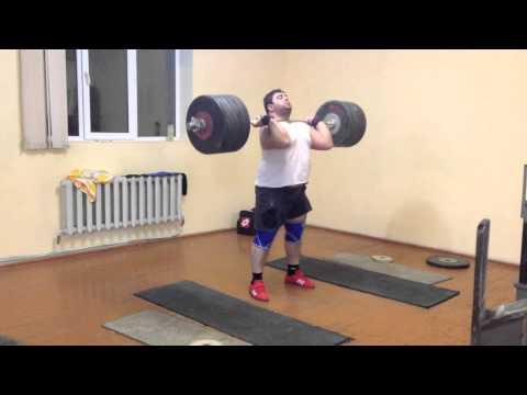 Armenian Senior National Weightlifting Team pt2