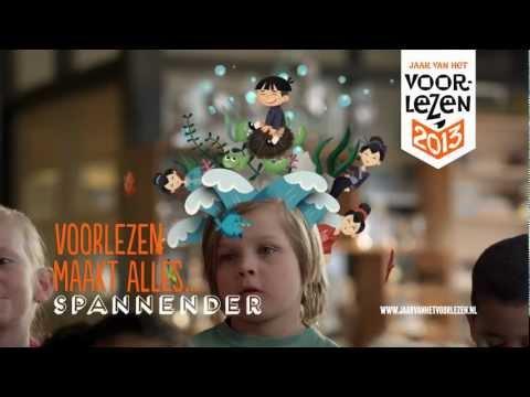 Voorlezen maakt alles mooier – commercial met Gerda Havertong