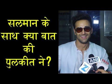 Pulkit Samrat Talks About Salman Khan, Bollywood A