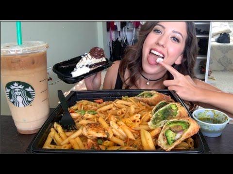CHEESECAKE FACTORY MUKBANG! (Eating Show) | MEESH LA