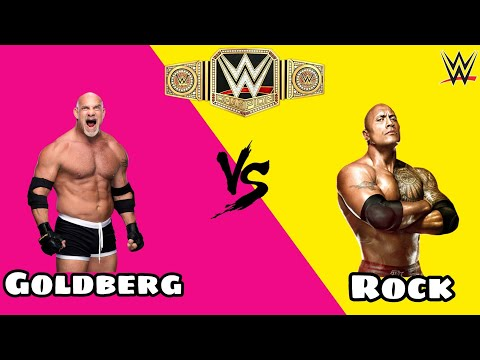 Goldberg Vs the Rock - WWE Gameplay 🔥🔥