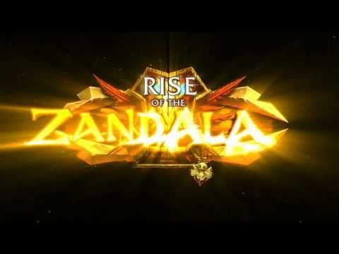 World of Warcraft Cataclysm: Rise of the Zandalari (Patch 4.1) (english trailer)