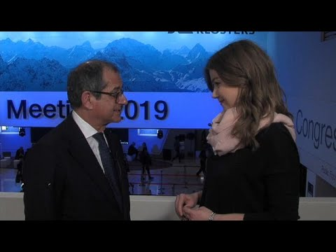 Νταβός: Το ζήτημα με την Ευρώπη έχει διευθετηθεί, λέει ο Ιταλός υπουργός Οικονομικών…