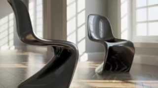 Panton Chair (Дизайнерский стул Пантона)