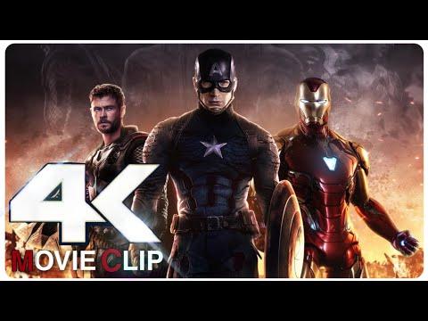 Avengers: Endgame | All Best & Fight Scenes | 2019 | 4K Ultra HD | By Az Gamer |