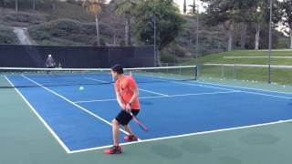 Men's Tennis Clinics at Rancho Niguel Tennis