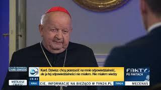 Stanisław Dziwisz nic nie wie i nic nie pamięta.